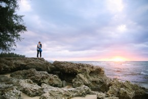 north shore oahu engagement photographer